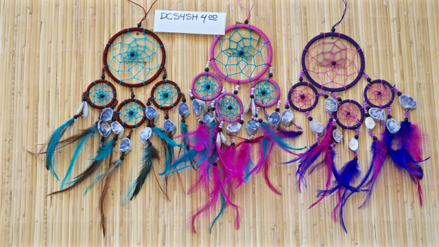 "4"" Dream Catcher with Shells"