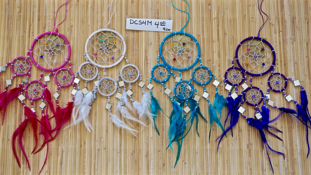 "4"" Dream Catcher with Mirrors"
