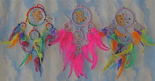 Colored String Dream Catcher $4.00