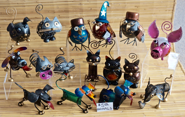 Metal Critters $5 assorted