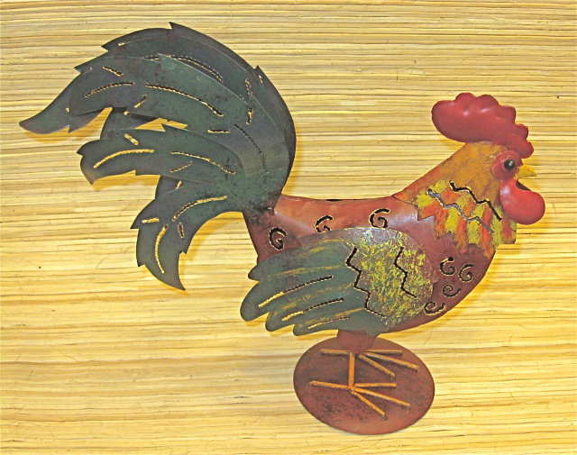 Candle Holder Rooster