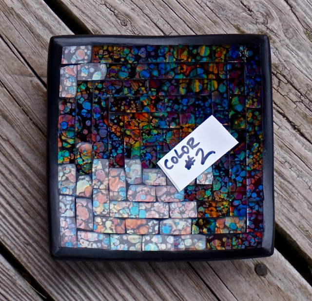 Mosaic Plate 750 Small Square